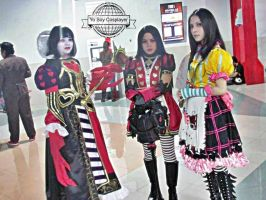 Alice Madness Returns : Queensland and Dollhouse by Nani-Dechuka