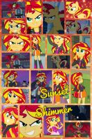 Sunset Shimmer by PrincessEmerald7