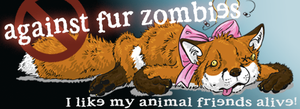 Against Fur Zombies by schattenfuchs