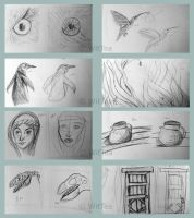 5-1 Minute sketches by WitTea
