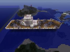 Minecraft US Navy Battleship by Marksman104