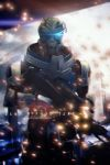 Garrus Vakarian || Mass Effect 3 - [Photo retouch] by LaceWingedSaby