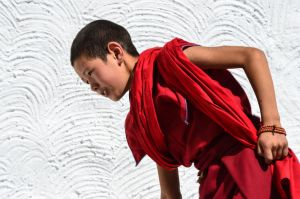 Tikse - Young monk by LLukeBE