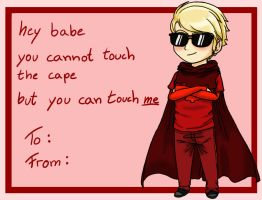 Valentine's Day Card - Dave by Zombie-Wiesel
