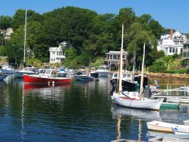 Pretty day on Perkins Cove by davincipoppalag
