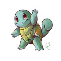 Squirtle by Silverkiwi78