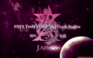 X-Japan Wallpaper by hide-loves-X