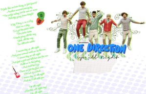 One Direction Wallpaper by KoniWilliams