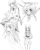 ToHeart-Sketch by Zoo-chan