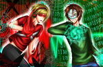 PewDieCry: Anti-Virus!PewDie vs Virus!Cry by xoStrawberry