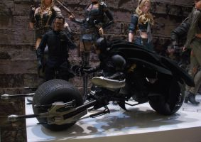 Hot Toys Batman The Dark Knight Rises Batpod 1:6 by Minas-Tirith-Hakan