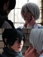 No. 6: Shion and Nezumi by lucky-pain
