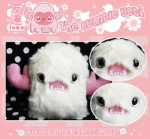 THE BUMBLE YETI - Plushie by TomodachiIsland