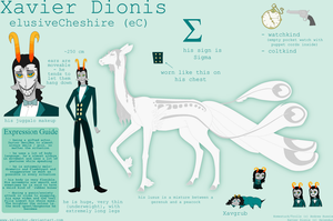 Sheet: Xavier Dionis by Zelendur