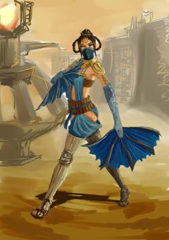 MKX-Kitana by GesiaRoss