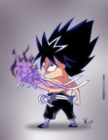 Hiei, Master of Dark Flames by Sketch536BR