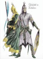 Glorfindel and Ecthelion by TurnerMohan