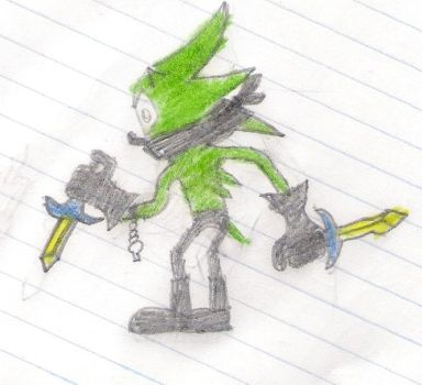 blind the hedgehog by ssth2000