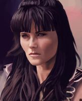 I'm not Xena, I'm Lucy Lawless by Katay