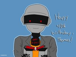 Happy B-Day, Thomas! by irenereru