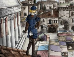 The thief of Rome by amucchina