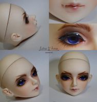 Commission - Faceup - Infinitidoll Joy by cutiedisease