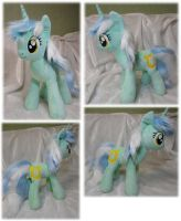 Lyra Heartstrings plushie by Rens-twin