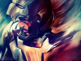 Digital Painting - All Heroes Fall by Aty-S-Behsam