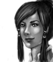 Sketch: Korra by Seirainia
