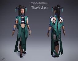 Well city inhabittants - Archon by MARV6617