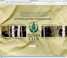 sierra club index page by palindromenoise