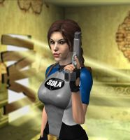Lara TR 2 wetsuit 01 by candycanecroft