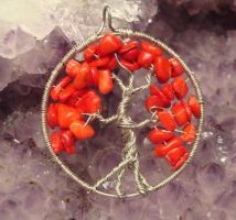 Tree of Life- Red Coral 2 by evanescentdreams