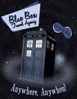 Blue Box Travel Agency by surrexi