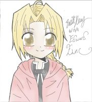 EDWARD ELRIC by misa66