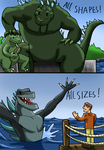 Happy Father's Day 2014 Kaiju Fans! by a3dkid