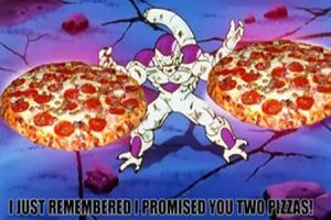 TFS FRIEZA 2 PIZZAS by delvallejoel