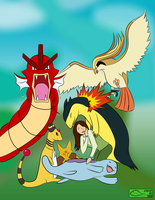 My Soul Silver Team by The-Emerald-Otter