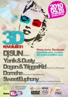 Poster for event:3D REVOLUTION by Armidas