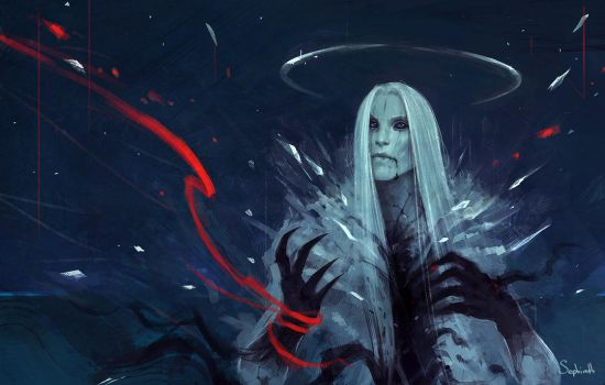 White Demon by Sephiroth-Art