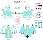 Glacia Reference Sheet 2015 by TheDragonInTheCenter