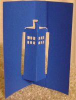 141: Pop-up TARDIS by CrazyFoxMoon