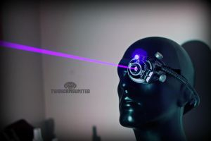 The Cybercult Laser monocle by TwoHornsUnited