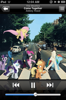 My Little Abbey Road iPod by pizzalover53