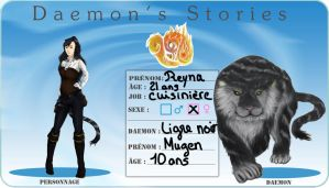 Daemon's Stories : Fiche Reyna Rp by sango691