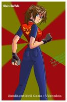 Claire Redfield by nightshide