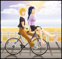 Enjoying summer by be-a-sin
