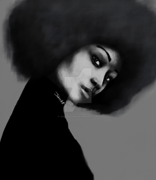 Afro Lean by jartndesign