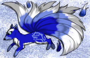 9 Tailed Kitsune Auction 2 [CLOSED] by GrimmXD-Adopts