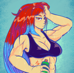 Good Workout by SolaireMomo